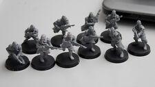 warhammer 40/30k     DEATH KORPS OF KRIEG INFANTRY SQUAD ADVANCING