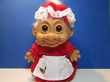 "MRS CLAUS / CHRISTMAS GRANDMA  - 8"" Russ Troll Doll - NEW STORE STOCK -LAST ONES"