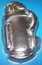 Vintage 1987 Wilton Golf Bag Cake Pan #2105-1836