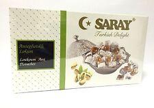 Saray miel turcos con llenado pistachos-fistikli Lokum 400 G