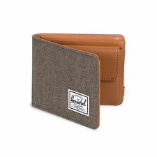 Herschel Classics Hank Coin Wallet Credit Card Case Canteen Crosshatch