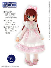 Azone Picconeemo Picco D Ellen`s Closet Alice Dress Set Pink x White 1/12 Doll