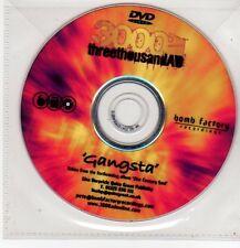 (FF535) 3000AD, Gangsta - DJ DVD