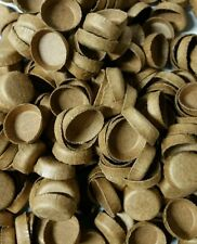 50 NEW FIREWORKS KRAFT PYRO PAPER PLUGS FOR TUBES END CAPS  9/16""