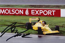 MARTIN DONNELLY HAND SIGNED CAMEL LOTUS F1 6X4 PHOTO 15.