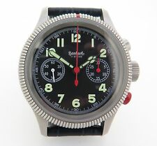 NEW Hanhart Pioneer Pilot's Chronograph by Poljot w/ 3133 (Works Perfectly)