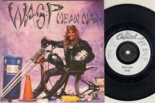 "WASP Mean Man  7"" Ps, B/W Locomotive Breath, Cl 521 (Vinyl Vg, Light Surface Mar"