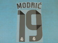Spanish La Liga 2014-2015 Real Madrid #19 Modric Homekit NameSet Printing