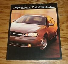 Original 2002 Chevrolet Malibu Sales Brochure 02 Chevy