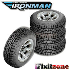 4 Ironman All Country A/T LT235/85R16 10Ply E Load 120/116Q All Terrain Tires AT