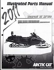 2011 ARCTIC CAT SNOWMOBILE BEARCAT Z1 XT LTD PARTS MANUAL P/N 2258-955  (738)