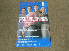 Rachel WEISZ in the SHAPE of THINGS at ALMEIDA at Kings Cross Theatre Poster