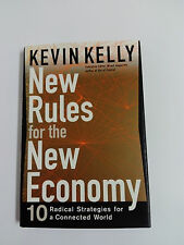 Libro NEW RULES FOR THE NEW ECONOMY  Kevin Kelly 1998 Hardcover