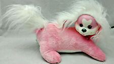 """Puppy Surprise Zoey With Puppies Pink White PS Heart Collar Plush 11"""" Toy"""