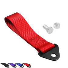 Racing Car Tow Straps Tow Ropes Hook Towing Bars with Bolts and Nuts