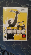 We Rock: Drum King WII   ITA NUOVO SIGILLATO