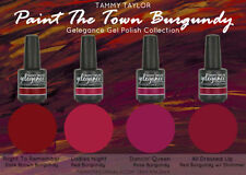 """Tammy Taylor Nails - """"PAINT THE TOWN BURGUNDY""""  COLLECTION GEL POLISH COLORS"""
