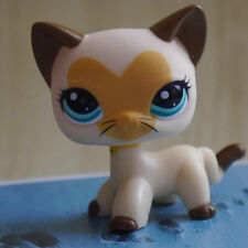 """LPS COLLECTION LITTLEST PET SHOP heart face cat kitty  RARE TOY 3"""""""