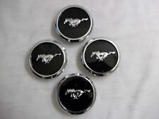2007 2008 2009 2010 CALIFORNIA SPECIAL MUSTANG RUNNING PONY CENTER CAPS 4 PC SET