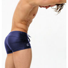 AQUX Brand Sexy Male Swim Briefs Low Rise Men's Nylon Swimwear
