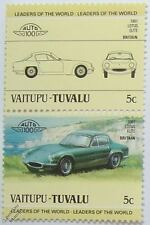 1961 LOTUS ELITE Car Stamps (Leaders of the World / Auto 100)