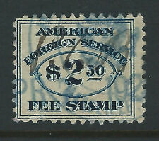 Bigjake, RK24, $2.50 American Foreign Service