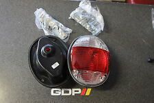 Custom Flush Tail Lights, Clear, 1973-1979 VW Bug/ Super Beetle, Pair, 2135
