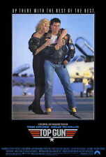 "TOP GUN Movie Poster [Licensed-NEW-USA] 27x40"" Theater Size Tom Cruise V2"