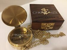 Sid Meier's Civilization VI Signature Edition Brass Compass ONLY Wooden Case 2K