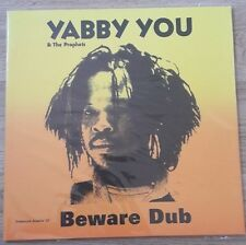 YABBY YOU & THE PROPHETS - BEWARE DUB 2 x LP VINYL IN SILK-SCREEN SLEEVE 25/30
