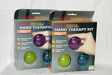 NOVA Exercise&Rehabilitation Hand Therapy Kit With 3 Different Grib Balls