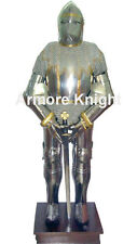 Medieval Knight Suit of Armor Medieval Combat Full Body- rmour With Sword Stand
