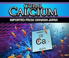 Coral Calcium 1000mg x60 Pills 100% Genuine Tablets Okinawa Healthy Bones Joints