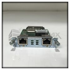 Cisco VWIC3-2MFT-T1/E1 2-Port Multiflex Trunk Voice/WAN Interface Module