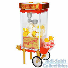 Lego Custom Creation - Old Fashioned Red & Gold Color Popcorn Machine *NEW*