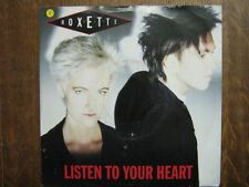 ROXETTE 45 TOURS GERMANY LISTEN TO YOUR HEART+