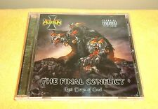 Acheron - The Final Conflict: Last Days of God - CD, 2009 Ibex Moon Rec. CD only
