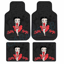 New Betty Boop Skyline 4 piece set Car Truck SUV Front Rear Rubber Floor Mats
