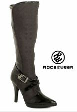"Women's Black Rocawear ""Yulia"" Knee High Boot: Size 7 M"