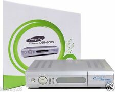 Digital Satellite Receiver: Omegasat DSB-6000U: C/Ku Band, Free To Air
