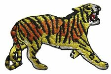 #3012 Wild Animal Tiger Embroidery Iron On Applique Patch