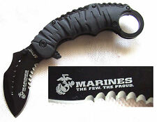 Karambit US Marines the Few the Proud Taschenmesser Semper Fidelis Pocket Knife