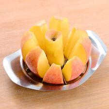 Edelstahl apfelschneider Slicer Obst Gemüse Werkzeuge Küchengerät Werkzeug Neu