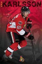 ERIK KARLSSON - OTTAWA SENATORS POSTER - 22x34 NHL HOCKEY 13021