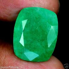 17.90 CT TRANSPARENT Columbian Emerald Natural GIE CERTIFIED fine Gemstone