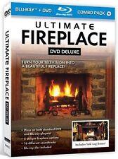 Ultimate Fireplace Blu-Ray + DVD for HD TVs - Mood Screen Saver, Tv Screesaver