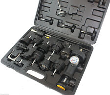 Automotive Radiator Coolant Pressure Leakdown Leak Tester Tool Kit