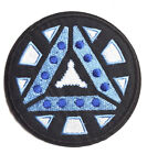 """Iron Man ARC REACTOR 2 Logo 3.5"""" Embroidered Patch-FREE S&H (IMPA-1004)"""