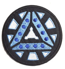 "Iron Man ARC REACTOR 2  Logo  3.5"" Embroidered  Patch-FREE S&H (IMPA-1004)"
