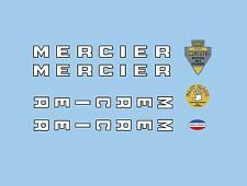 Mercier Bicycle Decals-Transfers-Stickers #1